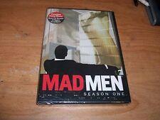 Mad Men Season One 1 (DVD, 2008, 4-Disc Set) Jon Hamm Drama TV Show NEW