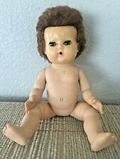 "Vintage American Characters 11"" Vinyl Tiny Tears Doll"