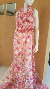 Swiss Haute Couture Exclusive Valentino designer fabric. 2 meters.