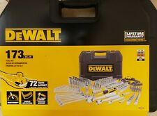 DEWALT DWMT41019 173-piece Polished Chrome Tool Set New!