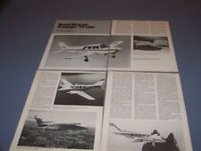 VINTAGE..1974 BEECH AIRCRAFT LINE & ERCOUPE.HISTORY/PHOTOS/DETAILS..RARE! (836N)