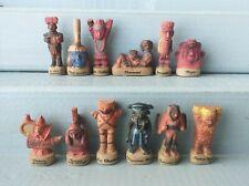 Série complète de fèves PEUPLES DU SOLEIL 2002 * 40-77