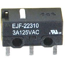 4 SUB Miniatur MIKROSCHALTER 125VAC 3A 30VDC 2A ECE EJF.. ohne Hebel Schalter