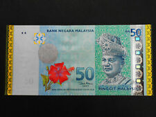 2007 malaysia rm50 commemorative goldline with folder AA0011307