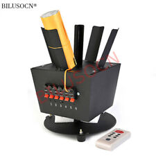 wireless remote control 6 channel rotating cold fireworks firing system machine
