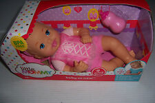 FISHER-PRICE LITTLE MOMMY BABY SO NEW DARLING DANCER 12 INCH BABY DOLL NEW!