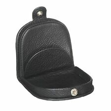 Pierre Cardin PC10315 Leather Horseshoe Coin Purse Black