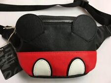 Loungefly Disney Mickey Mouse Fanny Pack Zip Adjustable