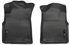 Husky WeatherBeater Black Front Floor Liners for 2005-2015 Toyota Tacoma