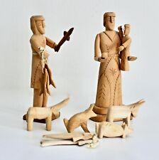 Sabinita Lopez Ortiz Cordova New Mexico Carved Folk Art Wood Sculpture Santos