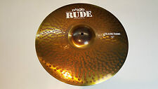"Paiste RUDE Crash Ride Becken 17"" Cymbal"