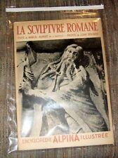 1937 Encyclopedie Alpina Illustree Encyclopedia La Sculpture Romane Scvlptvre