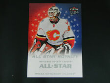 2008-09 Fleer Ultra All Star Royalty #18 Miikka Kiprusoff Calgary Flames