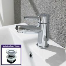 Cloakroom Mono Sink Basin Mixer Tap Bathroom Taps Chrome Faucet and Waste |Fiona