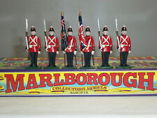 Marlborough MF48 FORT Henry Guard colore PARTY METAL Toy Soldier Figure Set