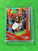 TYREEK HILL REFRACTOR CARD PRIZM CHEFS #/90 SP - 2018 Panini Donruss Elite Red