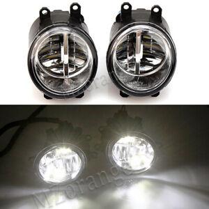Left & Right LED Front Fog Light Lamp For Toyota Land Cruiser Prado Rav4 C-HR AU