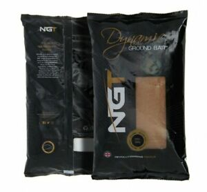NGT Dynamic Groundbait  Bloodworm 900g Bag Perch Carp Fishing Worms Red UK