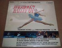 BOLSHOI BALLET 67 - Original Soundtrack - Command CC 11035 SD SEALED