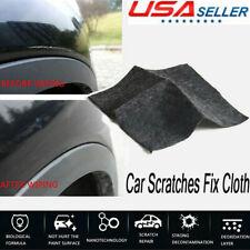 1/2pcs Scratch Eraser Magic Car Scratch Repair Remover Nano Cloth Surface Rag US