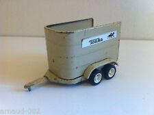 Tonka - Remorque pour chevaux en tôle 16 cm (Horse trailer)