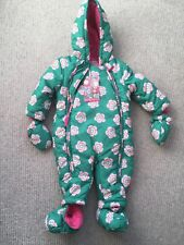 Toby Tiger Snowsuit 6-9 M Peaflower  Boden style