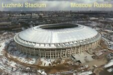 Luzhniki Stadium, Moscow Russia, Site of 2018 Soccer World Cup Final -- Postcard