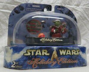 "Star Wars ""Holiday Edition"" 2003 (YODA) w/Greeting Card Hasbro McQuarrie NISP"