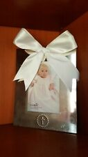 Mud Pie Christening, Baptism Frame Baby Silver Plate Cross Frame New Baby,