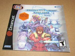 Phantasy Star Online Ver. 2 (Instruction Manual Only) Sega Dreamcast