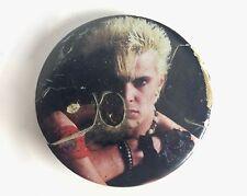 Billy Idol 1980s oversized Denim/Leather Pin Rebel Yell Rock badge Generation X
