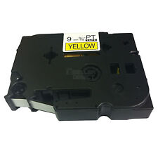 TZe621/TZ621 COMPATIBLE 9mm.TAPE BLACK/YELLOW FOR BROTHER P TOUCH