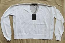 $495 NWT ALEXANDER WANG Sheer Snakeskin Sweater Top/Shirt Sz. S Small