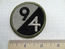 WW2 94TH INFANTRY DIVISION PATCH - O.D. BORDER   #USP635