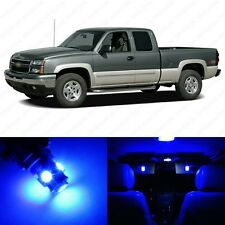 14 x Ultra Blue LED Interior Light Package For 1999 - 2006 GMC Sierra