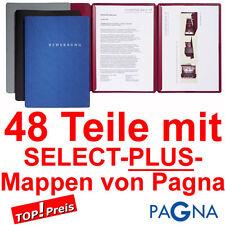 PAGNA SELECT Bewerbungsmappen 3-teilig + viel Zubehör - Set für Bewerbung