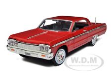 1964 CHEVROLET IMPALA RED 1/24 DIECAST MODEL BY MOTORMAX 73259
