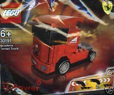 LEGO Ferrari Shell 30191 V-Power Scuderia Truck mit Rückziehmotor