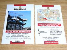 Deutsches Technikmuseum Berlin - 2 Für 1 Gutscheincoupon - Flugzeuge,Eisenbahn