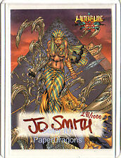 WITCHBLADE: Disciples of the Blade - Pack-Pulled Autograph Card A-4 - JD Smith