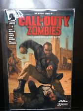 Call Of Duty Zombies Comic W/ poster