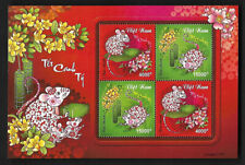 Viet Nam 2020-1 China New Year of Rat S/S Stamp Zodiac Animal 鼠年