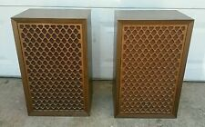 RARE NICE VINTAGE 1970's SONICS AS-306 SPEAKERS PAIR 80 Japan Watts