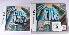 Jeu: City Life villes construire pour Nintendo DS + Lite + DSI + XL 3 DS 2 DS