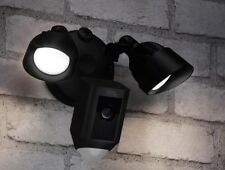 New Ring Floodlight Outdoor Wi-Fi Motion Activated Cam Camera  - Black