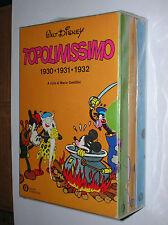 "COFANETTO  "" TOPOLINISSIMO  1930 - 1931 - 1932 ""  ( 3 VOLUMI ) -  ED. MONDADORI"