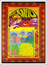The Who Pengrowth Saddledome Calgary Original Poster Signed by Bob Masse