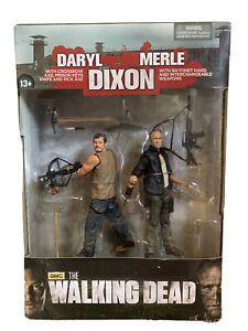 AMC The Walking Dead Daryl & Merle Dixon 2013 McFarlane Toys Action Figures NIB