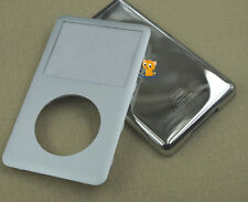 Silver Front Faceplate Fascia Back Housing Case Cover for iPod 6th Classic 120GB
