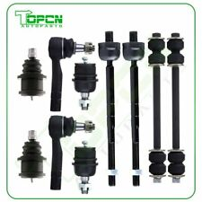 10pcs Front Tie Rod Ends Ball Joints For Ford Ranger Explorer Mazda B2500 B3000 Fits Ford Ranger